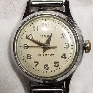 Vintage Timex automatic watch in women